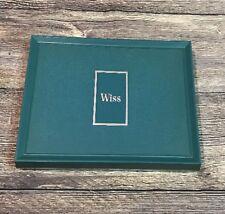 Vintage WISS Wissper-lite Sewing Scissors 3 Pc Gift Set in original Box