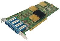 IBM 18P3456 LW3 FC 2Gb 4P Quad PCix Adapter 22R1721 Fibre Channel Longwave Card