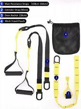 Techvilla Bodyweight Resistance Straps Suspension Trainer  Home Fitness Training
