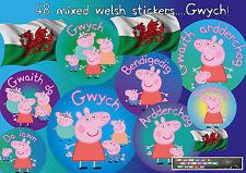 WELSH Teacher Reward Stickers GWYCH 48 School Well Done Praise Award