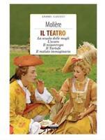 Il Teatro di Moliere L'avaro Il tartufo Il misantropo Crescere Edizioni NUOVO