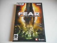 JEU PC DVD ROM - FEAR FIRST ENCOUNTER ASSAULT RECON - COMPLET