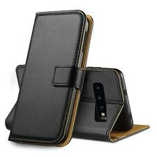 Case Cover Leather Shockproof For Samsung Galaxy S10 S9 S8 Plus A40 A50