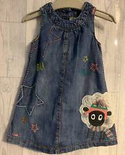 Girls Age 9-12 Months - Next Denim Pinafore Dress