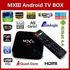 Android TV Box MXIII 4K S802 Decoder IPTV  / Garanzia Europa Sped. Gratis