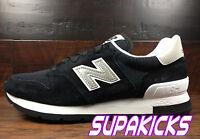 New Balance M995CHB USA 995 (Black White) Classic Rare VIBRAM (Suede) Mens 7-13