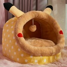 Pet Warm House Type Small Dog Teddy Warm Cat Litter Removable and Washable Bed