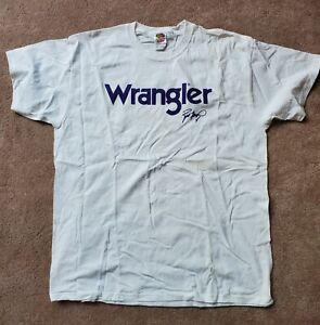 Vintage 2009 Minnesota Vikings Brett Favre Wrangler Promo T-Shirt NEW Size XL