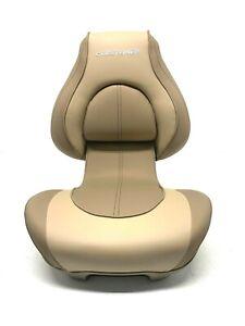 "Attwood Crestliner 23.5"" H x 19"" W x 21.5"" D Beige Folding Seat 98354CLTAN-1"
