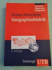Geographiedidaktik, 3. Auflage, von Gisbert Rinschede (2007, Taschenbuch)