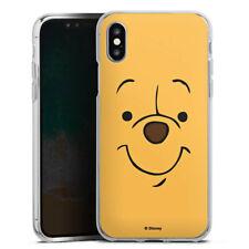 Apple iPhone Xs Silikon Hülle Case - Cuddle Face