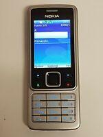 Nokia 6300 sbloccato telefono cellulare BLUETOOTH - TELECAMERA 2MPX