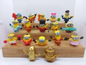 17x Minions Figurines