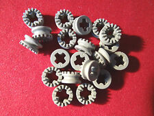 LEGO PART 4265A LIGHT GREY TECHNIC 1/2 BUSH TOOTHED TYPE 1  x  20