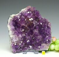 Large Amethyst Quartz Crystal Cluster Geode - Natural Raw Mineral Healing 1508g