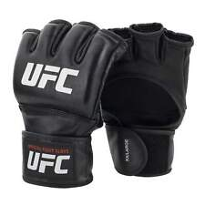 UFC MMA Black Fighting Boxing Sports Leather Gloves Tiger Muay Thai fight boxing
