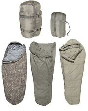 Sleep System 5 Piece Modular  ACU Camo USGI Sleeping Bag Camping Survival good