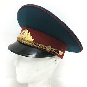 Mockba Soviet Hat Size 56 Navy Russian Military Uniform Costume Unisex 251220