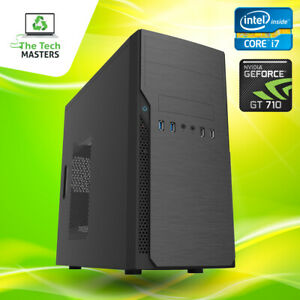 Gaming/Editing PC Intel i5/i7 8/16GB RAM 120/240GB SSD 1/2/3TB HDD GT710 Win 10