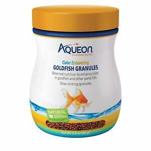(3 Pack) Aqueon Goldfish Color Enhancing Granules, 3-Ounce each