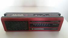 SOVIET USSR RUSSIA ABAVA RP 8330 RADIO RECEIVER TRANSISTOR VINTAGE RARE