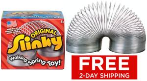 Slinky Metal Vintage Walking Down Stairs Funny Springs Kids Classic Toy