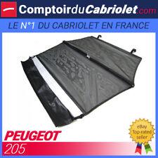 Filet anti-remous saute-vent, Windschott, Peugeot 205 cabriolet - TUV