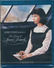THE DIARY OF ANNE FRANK 50th Anniv BRAND-NEW Sealed Reg A WS Blu-Ray /FREE SHIP!