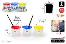 3pc kids paint pots