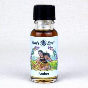 Amber - Oil by Sun's Eye  1/2 oz    ~Aromatherapy