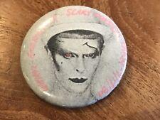 Rare David bowie Wmmr Event Pin 1980