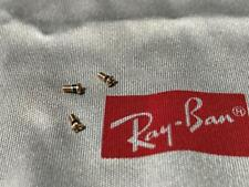 AUTHENTIC LUXOTTICA RAY BAN GOLD SCREWS RB3025 RB3026 AVIATOR for barrel & hinge