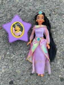 """6"""" Disney musical princess Jasmine doll from Aladdin  With Star not working"""