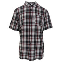 Vans Off The Wall Men's Port Royale Cleaned-K S/S Woven Shirt (Retail $44)