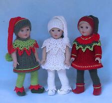 Crochet Santa's Lil' Elves doll pattern by Annie Potter Presents