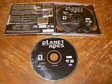 Planet Of The Apes PC CD-ROM Ubi Soft 2001 game for Windows 95/98/Me/2000