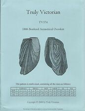Schnittmuster Truly Victorian TV 374: Bordered Asymetrical Overskirt