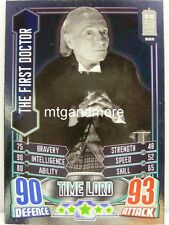 #009 The First Doctor - Foil - Alien Attax Doctor Who - 50th Anni