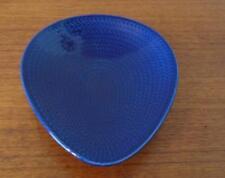 Rorstrand Schweden Pottery Bowl Modernist Design Bla Eld Blue Fire