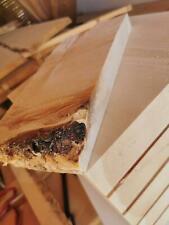 Alpen Zirbenholz Zirbe Brett Zirbenbrett Arve mit einer frischen Öl-/Harz Fläche