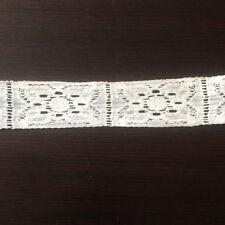 Métrage Galon Dentelle Ancienne Blanche 2 m - Antique French Lace