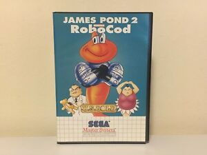 JAMES POND 2 CODENAME ROBOCOD SEGA MASTER SYSTEM