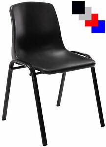 Stapelstuhl Nowra Kunststoff Konferenzstuhl Kunststoffstuhl Mit Metallgestell