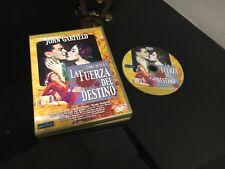 LA FUERZA DEL DESTINO DVD FORCE OF EVIL JOHN GARFIELD
