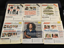 AARP Bulletin Magazine Lot of 6 2014-15 Health Spirituality Financial News