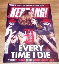 November Kerrang! Music, Dance & Theatre Magazines