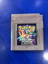 Gameboy Pokemon TPP (Twitch Plays Pokemon) Cartridge Fan Made Red Anniversary