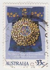 (DB1075) 1985 AU 33c QEII birthday (A)