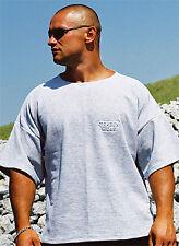 graues T-Shirt BW Bodybuilding Gym Sport Freizeit Fitness von MORDEX