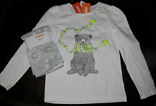 Gymboree Cozy Ski Lodge bear in scarf top & snowflake leggings NWT 8 SCHOOL